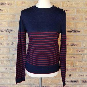 Zara knit light weight crewneck sweater